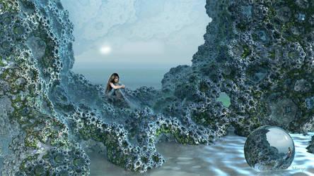 Lonely Mermaid ... by marijeberting