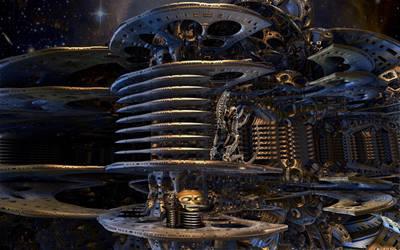 Alien Killing Machine ... by marijeberting