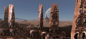 Alien Artwork on Mars ...