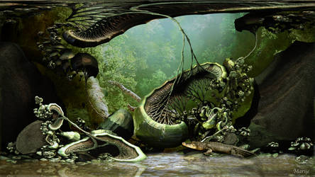 Crocodile Swamp by marijeberting