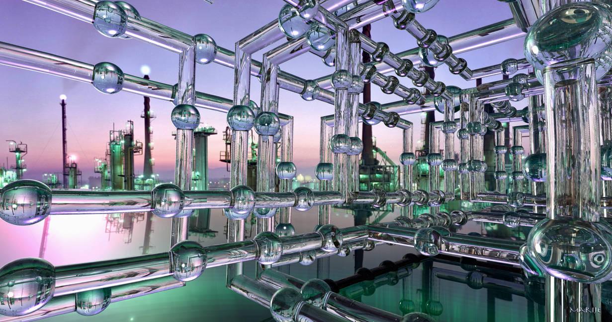 Water Treatment Plant by marijeberting