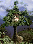 Dryad, the nymph of an oak tree by marijeberting