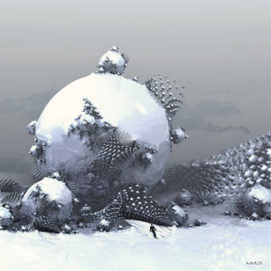 Skiing in a fractal ski area ...