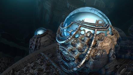 Spherical water storage tanks ...