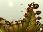 Venus Flytrap, a carnivorous plant ...
