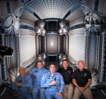 SpaceX astronauts have arrived at the ISS ...