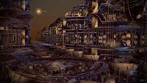 Steampunk City ...