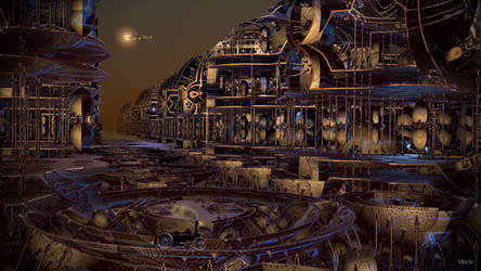 Steampunk City ...
