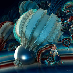 I love my giant blue Physalis ...
