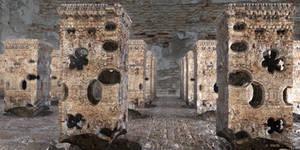 Crusader Fortress Ruin ...