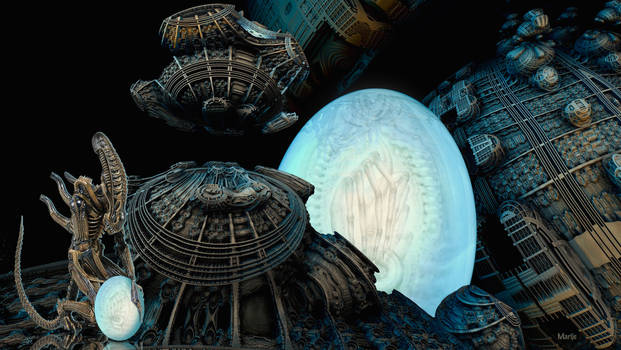 Mega Alien Egg ...