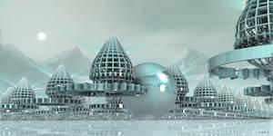 Future arctic city ...