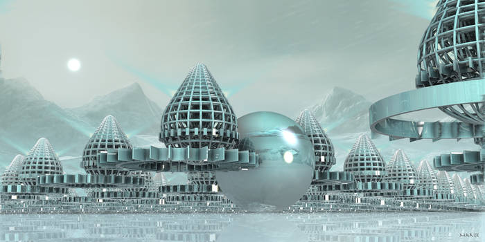 Future arctic city ...
