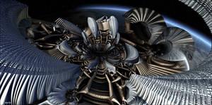 Alien spaceship is approaching earth ...