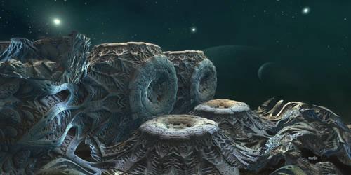 Extraterrestrial world ...