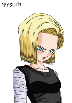 Dragon Ball Fighter Z Stamp Android 18 Render