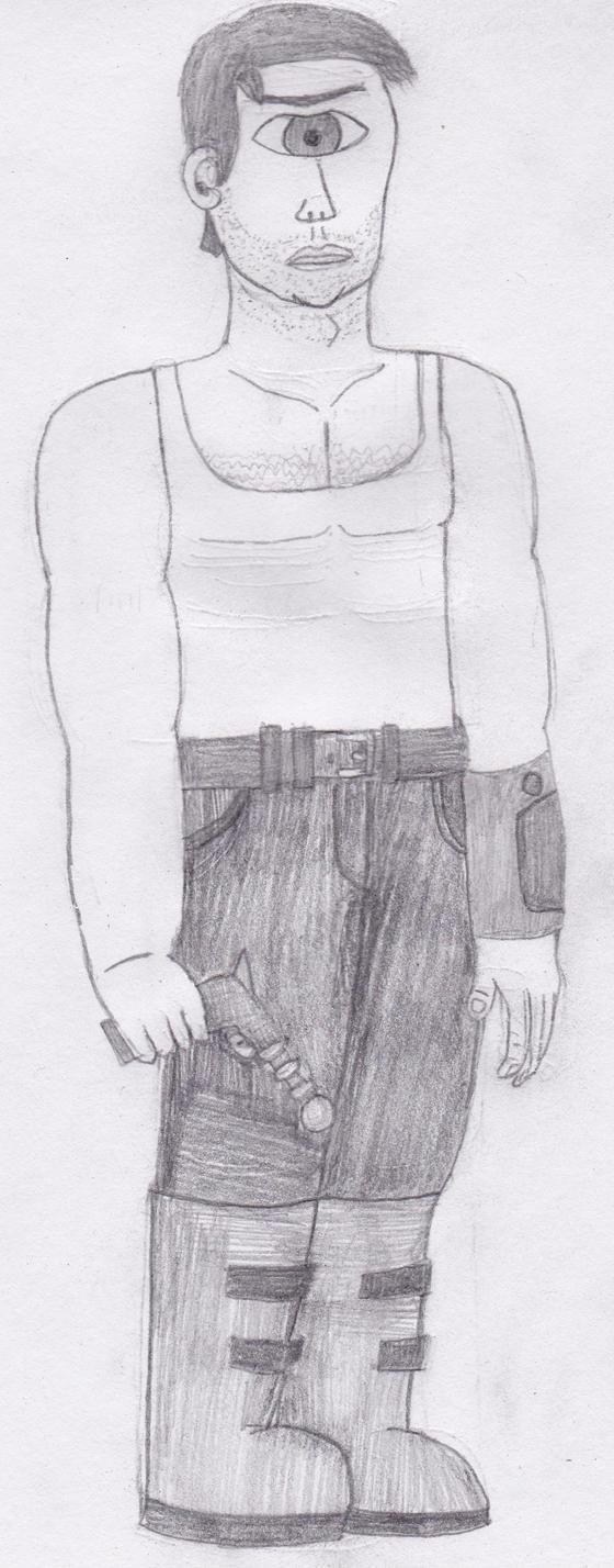 Leela Genderswap by Spaceman130