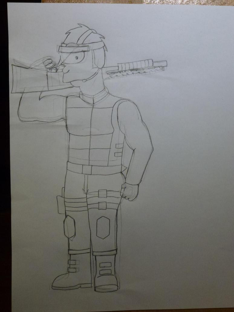 Corporal Leelo (WIP) by Spaceman130