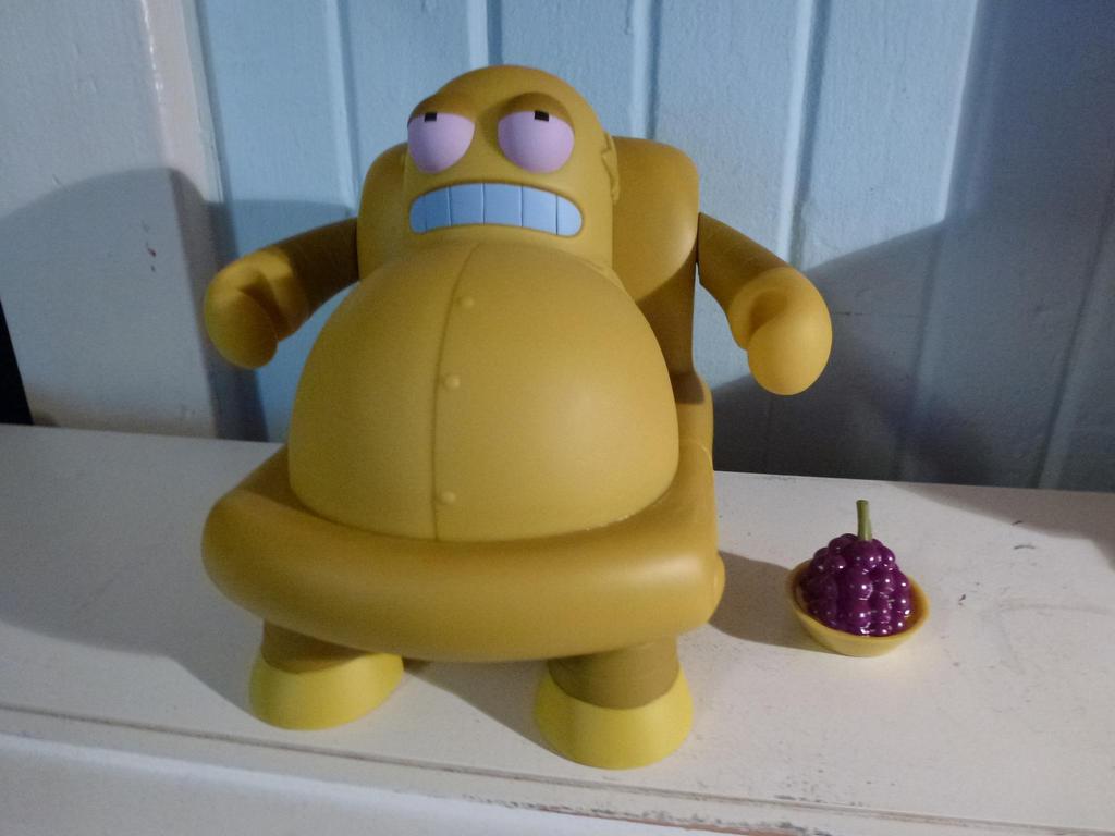 Futurama Hedonismbot Figure by Spaceman130