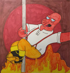Firefighter Zoidberg (colored)