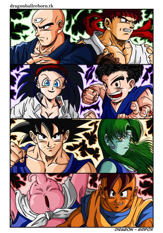 Dragon Ball Reborn Fighters by Diragon12 on DeviantArt