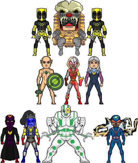 New Amalgam Comics: AHEM by Red-Rum-18
