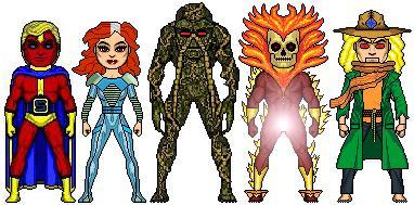 New Amalgam Comics: Elementals by Red-Rum-18