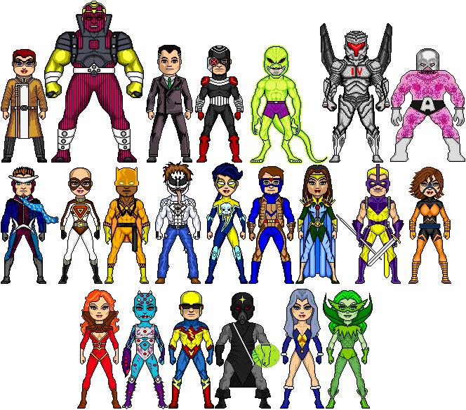 New Amalgam: Thunder Squad by Red-Rum-18