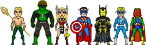 NAC: Justice Avengers- Origin