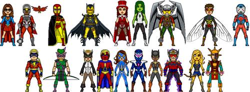 NAC: Justice Avengers- Newbies
