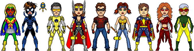 NAC: Teen Avengers- East