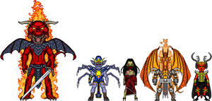 Edo Marvel: Demons