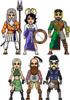 Edo Marvel: Gods