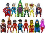 New Amalgam: All-Star Invaders