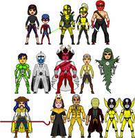 New Amalgam Comics: Enemies of the Teen Avengers by Red-Rum-18