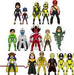 New Amalgam Comics: Enemies of the Teen Avengers