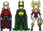 Trinity + New Genesis costumes