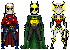 Trinity + New Genesis costumes by Red-Rum-18