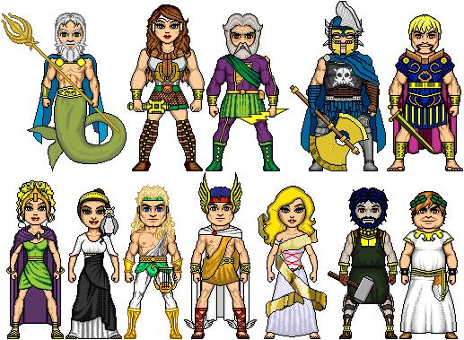 New Amalgam Comics: The Olympians by Red-Rum-18