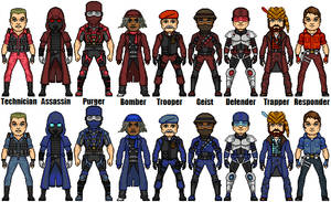 XMas 2013- Team Fortress Class Amalgams by Red-Rum-18