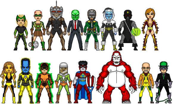 New Amalgam Comics: Secret Society of Evil 1