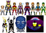 New Amalgam Comics: New Eternals of New Uranus