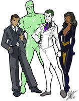 Absolute DC Villains by Inspector97