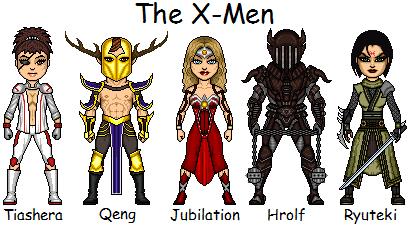 Tangent Comics II: The X-Men by Red-Rum-18