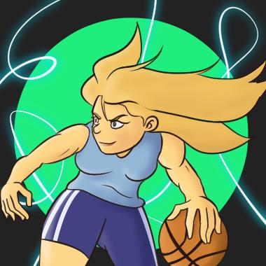 BasketGirl by BoxDeer