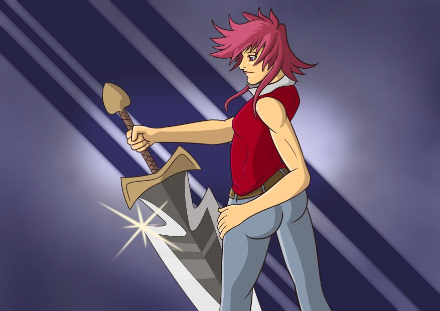 Female Warrior by BoxDeer