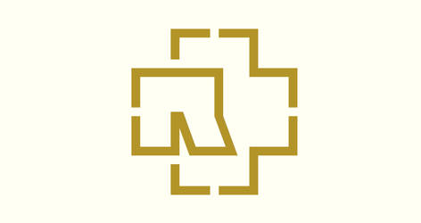 Rammstein logo wallpaper by polaczek13