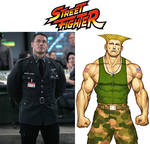 John Cena as Guile (Street Fighter) by MZimmer1985