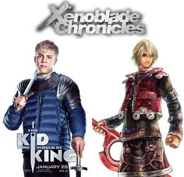 Tom Taylor as Shulk (Xenoblade Chronicles) by MZimmer1985