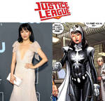 Constance Wu as Doctor Light (Justice League) by MZimmer1985